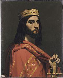 Dagobert Ier, de Émile Signol, 1842