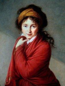 Elisabeth Vigée Lebrun, Portrait de la Comtesse Natalie Golovine, vers 1800