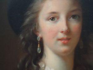 Elisabeth Vigée Lebrun, Autoportrait (détail), 1781-1782