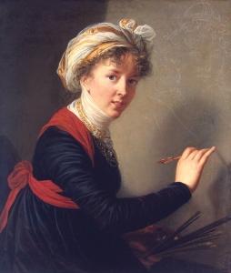 Elisabeth Vigée Lebrun, Autoportrait, vers 1800