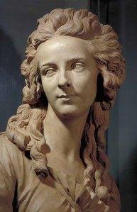 Augustin Pajou, buste en terre cuite d'Elisabeth Vigée Lebrun, 1783 © Louvre