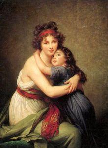 Elisabeth Vigée Lebrun, Autoportrait avec Julie, 1789