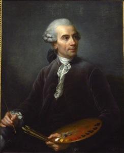 Elisabeth Vigée Lebrun, Portrait de Joseph Vernet