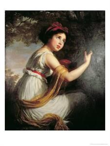 Elisabeth Vigée Lebrun, Portrait de Julie 1797