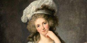 Elisabeth Vigée Lebrun, Portrait de Louise Marie Adélaïde de Bourbon-Penthiève, 1789