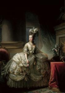 Elisabeth Vigée Lebrun, Portrait de Marie-Antoinette, 1778