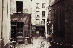 Rue ancienne © BnF