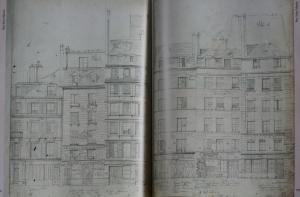 Rue Saint-Martin 1852 © Parigramme
