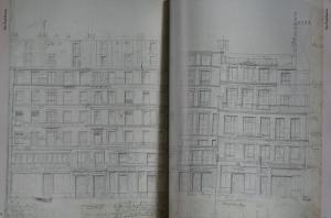 Rue Rambuteau 1852 © Parigramme