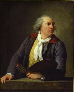 Elisabeth Vigée Lebrun, Portrait de Hubert Robert, 1788
