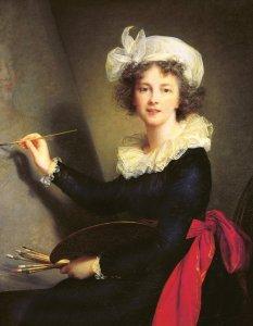 Elisabeth Vigée Lebrun, Autoportrait, 1791