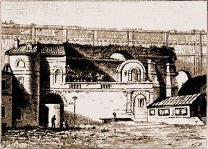 Aqueduc d'Arceuil, reconstruit sous Louis XIII puis sous le Second Empire © Fernand Bournon