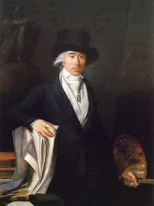 Jean-Baptiste Pierre Lebrun, Autoportrait, vers 1795