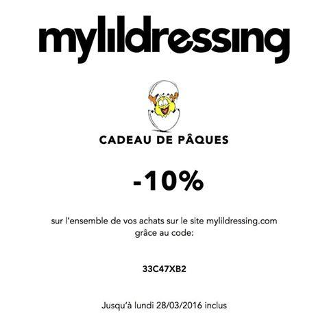 MyLilDressing promo Pâques