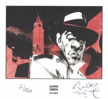 Lucas Nine pour Jorge Luis Borges, Inspecteur de Volailles aux Editions Les Rêveurs